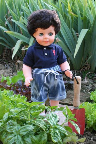Jean-Michel surveille ses petites salades !