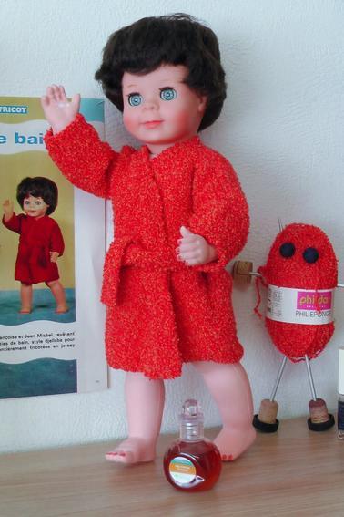 Je tricote, tu tricotes, elle tricote ....