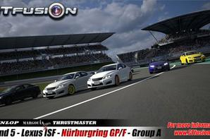 GTfusion Round 5 Race Picture of Group A