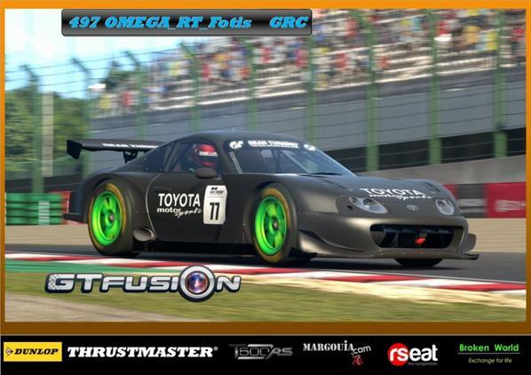 GTfusion Round 5 Pilots in Action —Suzuka Circuit.