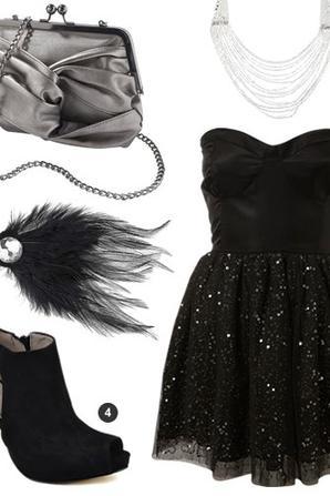 idée de tenue pour soiré glam