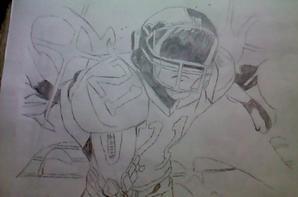 l'image et mon dessin de sena alliasse eyesshield 21