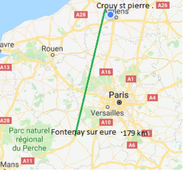 Le weekend prochain se seras Fontenay sur Eure et Langeais pour les autres.