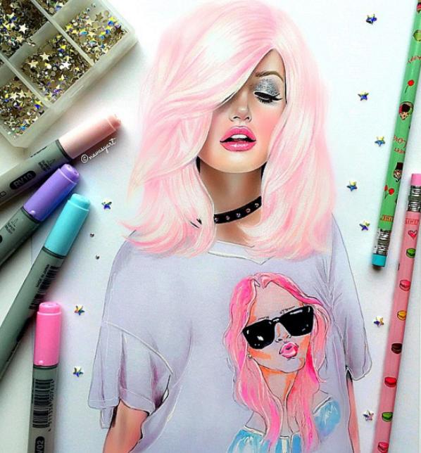 Dessin Trop Cute By Natalia Vasilyeva Just Drawing
