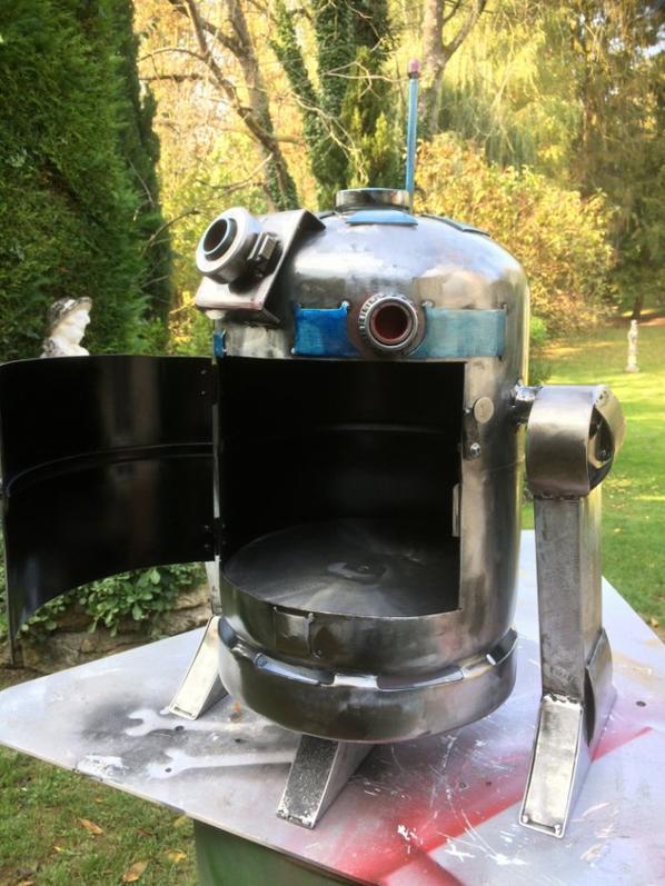 r2d2 avec bouteille de gaz 13 kg par Falko