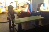 Quelque vue intérieur du SPF (siège de la Playmo-fédération) qui se trouve a Plibo-sur-Playmo, a Playmobic.
