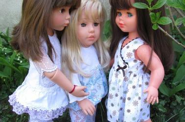 Clara,Lissi et Coraline