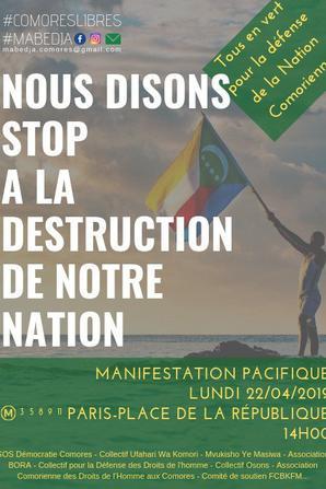 Manifestation contre la dictature: battons le pavé demain sur la place de république