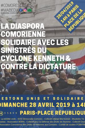 Ensemble le 28 avril pour battre le pavé de Paris à Marseille