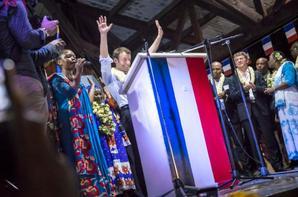 Macron à Mayotte : Marahaba wamaoré