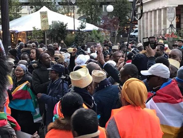 Conférence de Paris: Appel à mobilisation le 2 et 3 décembre contre le pouvoir azaliste
