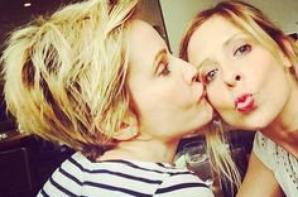 Sarah Michelle une fille très proche de ses amis de Buffy