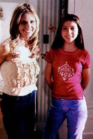 Phots de tournage de Buffy contre les vampires
