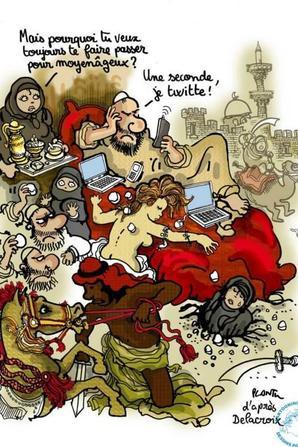 Plantu: 40 ans de dessins dans Le Monde