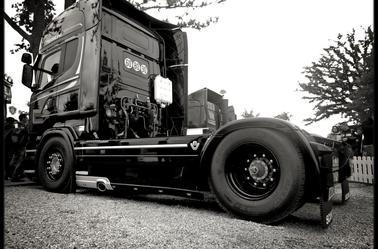Le mans camion 2013 les nouveau scania streamline present (pris par mes soins)