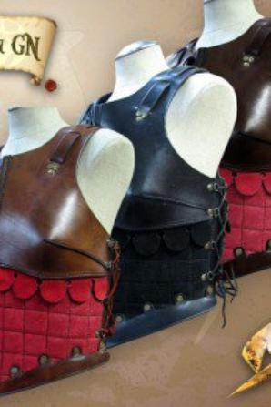 Tenue d'archer type pour cosplay medieval :)