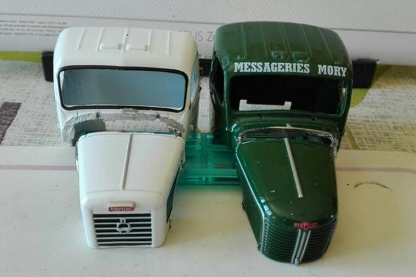 Découpe de la cellule cabine du GBM et du museau du M2 !