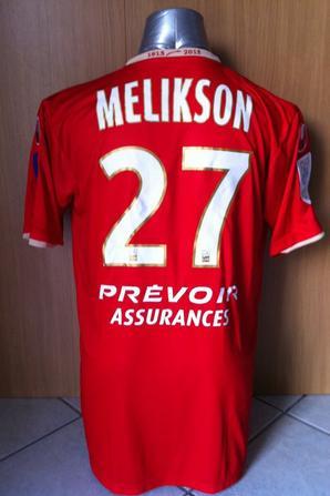 Maillot porté par MAOR MELIKSON 2012/2013