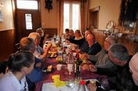 Repas entre amis colombophiles