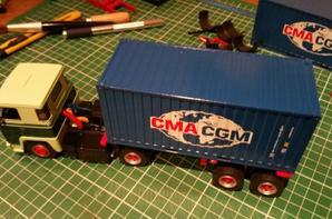 en cour de transformation pour ma première modification sur camion altaya à suivre
