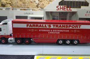 tracteur volvo f12 460ch restyle 6x2 tauline trp edwin c farrall's de chez eligor au 1/43 (modelé anglais).