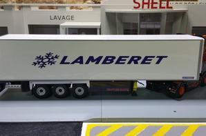 remorque lamberet sr2 superbeef + groupe thermo king slx 300 scania r des trp staf eligor au 1/43.