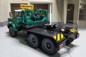 tracteur berliet tbo 15 m3 en 6x4 modèle ixo au 1/43 édition altaya.