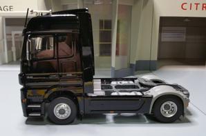 tracteur mercedes-benz actros 1846 ls mp3 black-liner modèle eligor au 1/43.