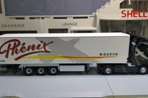 volvo fh4 650ch globe xl semi-remorque chereau frigo inogam des trs phénix modèle eligor 1/43.