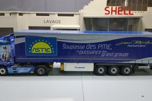 tracteur mercedes-benz actros mp4 semi-remorque krone bâché des trs jean rouillon modèle eligor au 1/43.