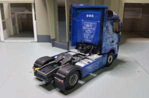 tracteur mercedes-benz actros mp4 jean rouillon en details modèle eligor au 1/43.