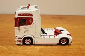 scania s500 highline transports hervouin modèle wsi au 1/50.
