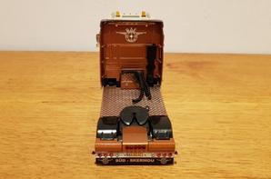 daf xf 105 460ch transport marco van stralen modèle wsi au 1/50.