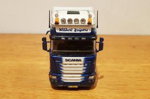 scania r 580 streamline topline transport wilbert kuipers modèle tekno au 1/50.