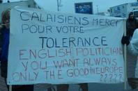 Retour sur la manif contre le mur de la honte à Calais.