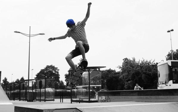 SKATE ♥ (photo par Maxime Blin)