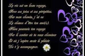 poeme ou l image dune amitié je vous adore tre forte comme vous etes si gentille on apprend a ce partager merci