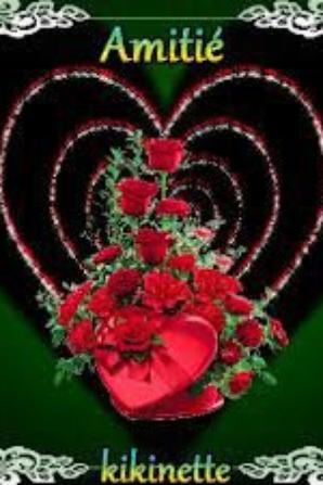 bsr mes amis vous savez pourquoi je vous adore comme vous etes si gentil avec  votre soutien sa me porte une autre vie plus jolie