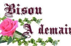 bjr mes amis c est une belle journée qui commence et je vous souhait a tous une tre bonne début semaine et bon journée de lundi bisou a plus mes amitiés
