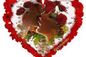 bsr mes amis nous somme dans la semaine la fête des amoureux vous etes tous une très belle soiré a tout valentine bonne fête a vous tous bisou a plus mes amis