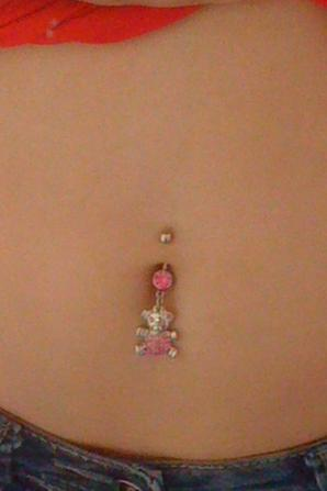 Mon piercing :)