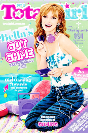 "Magazines total girl ""Bella Thorne"""