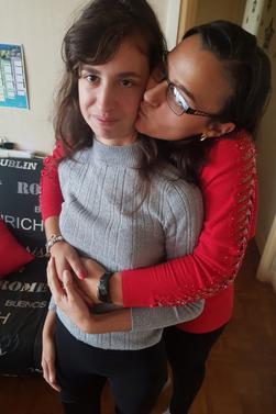 L'amour  entre deux femmes que c'est beau