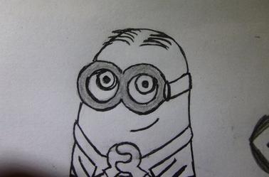 Tuto dessiner un minion 5 - Minion a dessiner ...