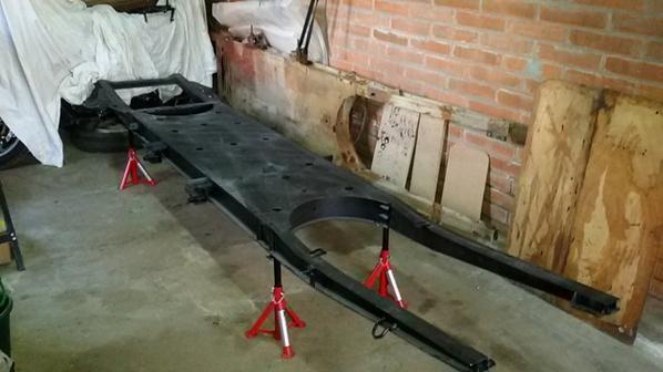 le chassis neuf galvanisé a été habillé