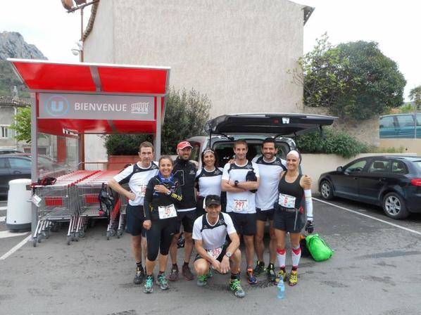 La Drink Team au Drôme Trail de Buis les Baronnies