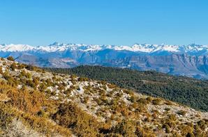"""Sortie Trail ASPTT Nice Côte d'Azur - """"Semi-marathon"""" du Cheiron (Coursegoules)"""