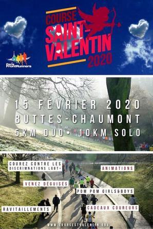 Course 10 km de la Saint Valentin 2020 (Paris 19ème) - Bernard Lefevre 1er Master 6