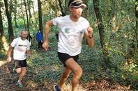 Fartlek aux couleurs d'automne pour l'ASPTT Nice Côte d'Azur Athlétisme
