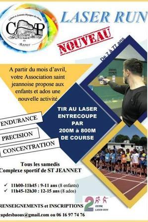 """Le """"Laser Run"""" arrive sur la Côte d'Azur - Engouement à Saint-Jeannet"""